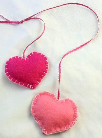 Super SImple Felt Hearts