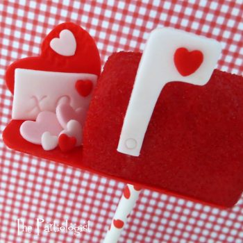 Edible Valentine Mail Box