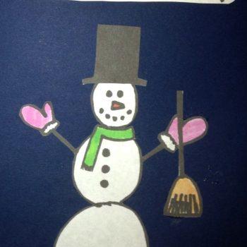 My Snow Buddy Card