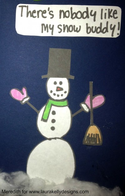My Snow Buddy Card