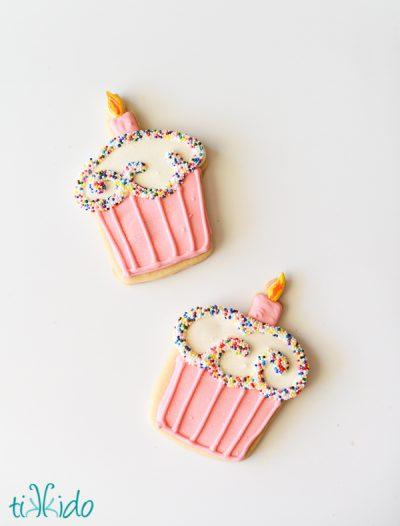 Cupcake Sugar Cookies