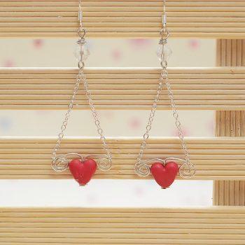 Easy Heart Dangle Earrings