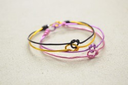 Love Knot Bangle Bracelets