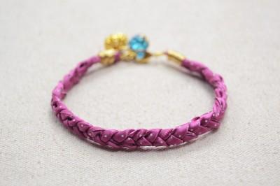 Braided Ribbon Bracelet