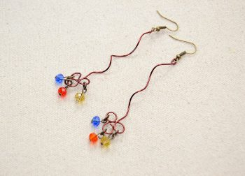 Twisted Wire Earrings