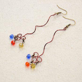 Twisted Wire Earrings