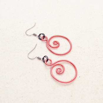 Spiral Zen Earrings