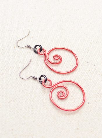 Spiral Zen Earrings