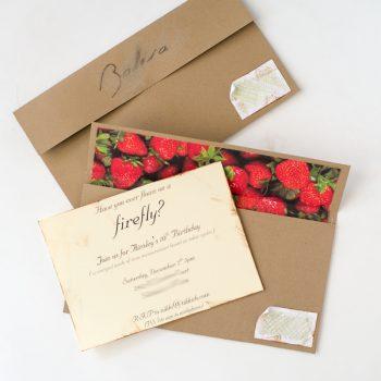DIY Lined Envelope