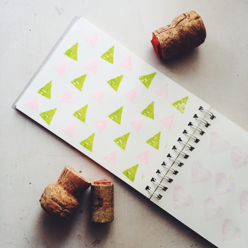 Make Your Own Cork Stamps