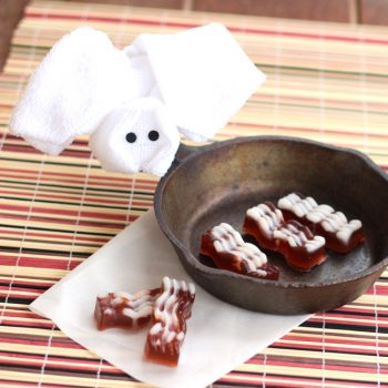 Bacon Soap with Washcloth Piggy
