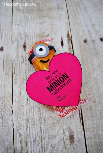 Minion Valentine