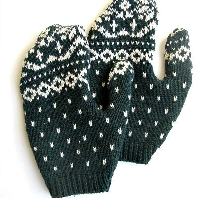 Repurposed Sweater Mittens