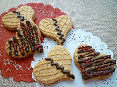 Simple Nutter Butter Hearts