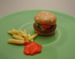 Tootsie Roll Burger