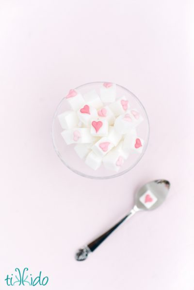 Valentine's Day Sugar Cubes