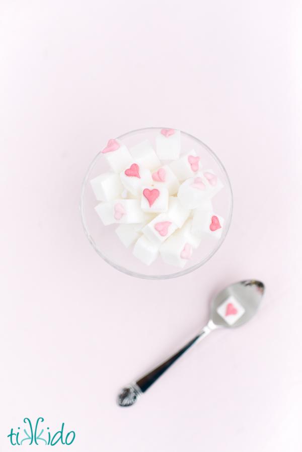 Valentine's Day Sugar Cubes