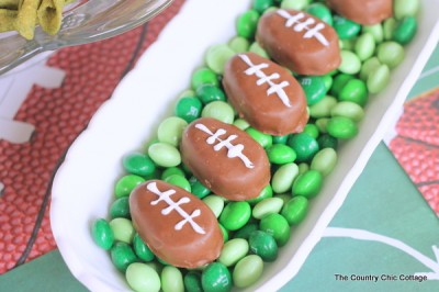Super Bowl Candy Dish