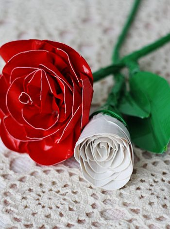 Realistic Duct Tape Roses