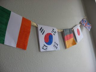 World Flag Banner