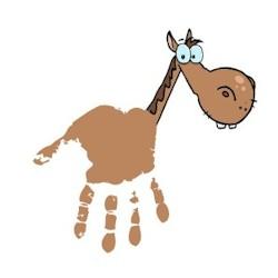 Handprint Horse