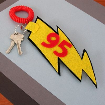 Lightning Bolt Keychain