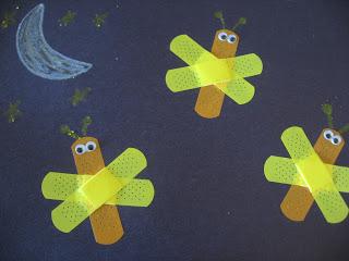 Band-aid Lightning Bugs