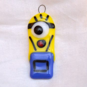 Fused Glass Minion