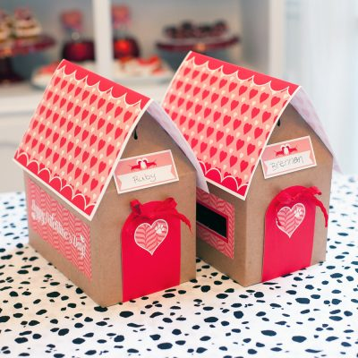 Puppy Love Valentine Day Mailbox