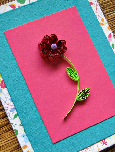 Quilled Valentine Card Fun Family Crafts