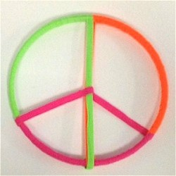Shoelace Peace Sign