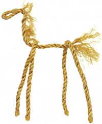 Rope Horse Craft
