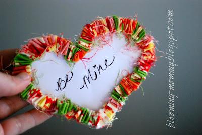 Ruffled Heart Valentine