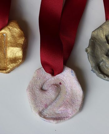 Salt Dough Olympic Medals