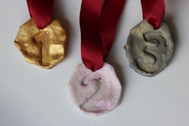Salt Dough Olympic Medals