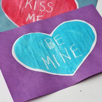 Secret Message Valentine