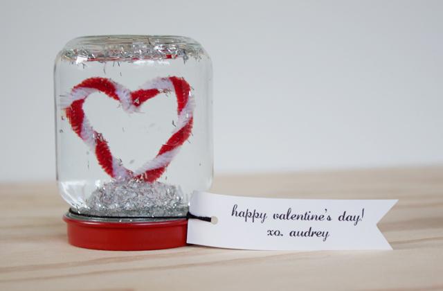 Snow Globe Valentine