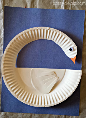 Paper Plate Swan & Paper Plate Swan | Fun Family Crafts