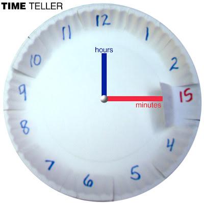 Time Teller Cheat and Peek Clock