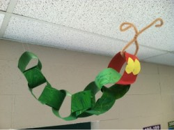 Very Hungry Caterpillar Paper Chain