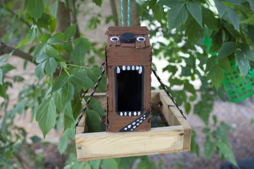 Wookie Birdhouse Fun Family Crafts