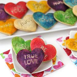 Conversation Heart Pastries