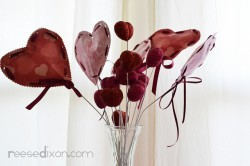 Valentine's Heart Bouquet