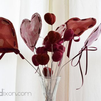 Valentine's Heart Bouquet