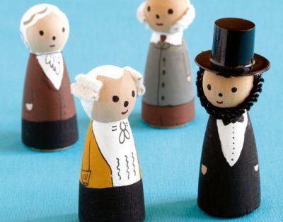 Mini President Figurines