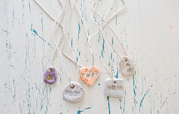 Clay Monogram Charms
