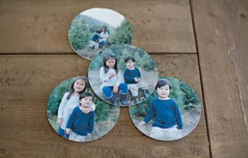 Paper Photo Coasters