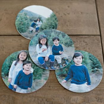 Paper Photo Coasters