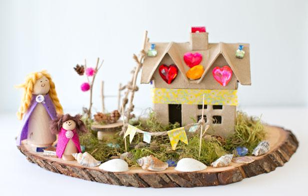 Make A Magical Fairy House Fun Family Crafts
