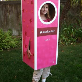 American Girl Doll Box Costume